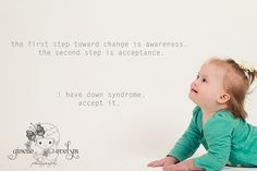 Down Syndrome Motivational Photo  <3
