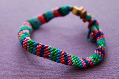 The classic summer camp craft — friendship bracelets!    How to Make a Friendship Bracelet - wikiHow