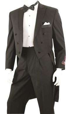 ACTEX 2-Piece Tuxedo with Tails