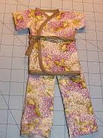 Doll Kimono Part 1 tutorial