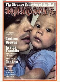 Famous Rolling Stone cover with Jackson Browne after his wife died with his son Ethan Zane Browne was born in 1973 Jackson Browne, Rolling Stones, Madonna, Dr Hook, Rolling Stone Magazine Cover, Travel Specials, It's All Happening, The Pretenders, Aretha Franklin