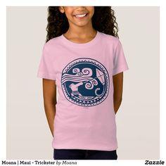 Moana   Maui - Trickster. Customizable product available in Zazzle store. Producto personalizable disponible en tienda Zazzle. #camiseta #shirt