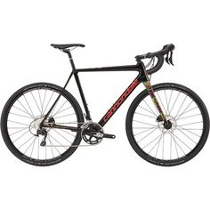 Cannondale SUPERX 105 Cyclocross Bike 2017 - jet black/acid strawberry