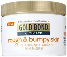 Gold Bond Ultimate Rough & Bumpy Daily Skin Therapy, 8 Ounce, Helps Exfoliate and Moisturize to Smooth, Soften, and Reduce the Appearance and Feel of Bumps and Rough Skin Patches (Packaging may vary) Doterra, Brown Spots On Skin, Skin Spots, Brown Skin, Bumps On Legs, Skin Bumps, Sagging Skin, Skin Cream, Medical