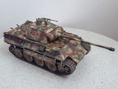 World War I, Scale Models, Military Vehicles, Diorama, Panther, Camouflage, Tanks, Modeling, Miniature