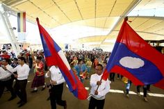 #Expo milano 2015 celebrates the national day of #Laos