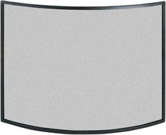 This curved modern fireplace screen is available in two sizes, please select which size you require from the drop down list. The fire guard will help prevent any escaping sparks from open fires and help deter people from getting dangerously close to your fireplace. The modern design will look great in any living room or fireside.