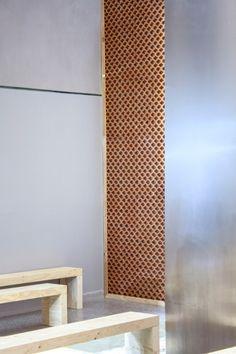 Formafantasma's catwalk for Sportmax emerges from PVC film and terracotta matrix