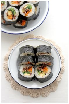 Beef Kimbap (쇠고기 김밥)