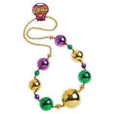 Mardi Gras Ball Necklace