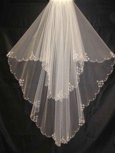 Elegant Designer Wedding Veils Bridal Veils Style ZV0161.