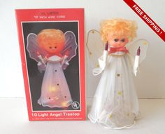 Vintage Mid Century House of Lloyd 10 Light Angel Treetop in Box by VintageSistersx2 on Etsy