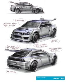 automotive sketches | Posted by brookbanham at 12:38 PM PDT