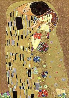 A mosaic of a kiss...