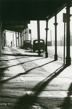 Queensberry Street at Errol Street, North Melbourne 1963 by Mark Strizic Dreams and Imagination: Light in the Modern City