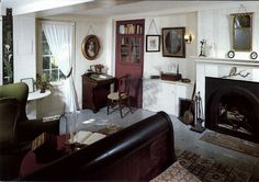 Louisa May Alcott's Bedchamber (Photographer: Herb Barnett). Images used by permission of Louisa May Alcott's Orchard House