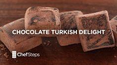 Chocolate Turkish Delight • ChefSteps Recipe