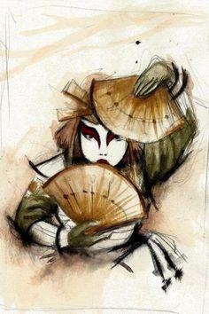 Suki of the Kyoshi Warriors