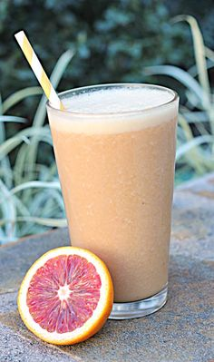 Blood Orange Superfood Smoothie    If you have been around here before, you know that I believe smoothies have been the biggest contributor to my significant weight loss to-date. I drink a smoothie every morning and love the energy the smoothies give me and the weight loss benefits as well.