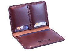 Horween Chromexcel Tan Leather Passport Holder Case