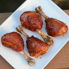 Apple-Glazed Chicken Drumsticks - by OnlineRecipe.club