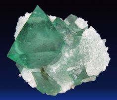 Fluorite with Quartz - South Africa