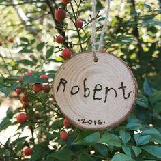 Kid crafts. Woodburned ornaments  https://www.etsy.com/listing/489510805/childs-name-ornament-wood-burned