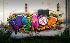 Graffiti Piece, Graffiti Font, Hair Shaver, Street Art, Lettering, Outdoor Decor, Angel, Painting, Image