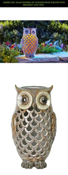 Garden Owl Solar Powered LED Outdoor Decor Tabletop Patio Ornament Lamp Light   #drone #camera #shopping #products #tech #fpv #racing #outdoor #owl #kit #gadgets #decor #technology #plans #parts