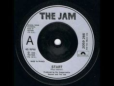 "THE JAM - ""Start"" followed by ""Liza Radley"""