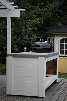 LA PETITE PRINCESSE: Terassin muutostyöt ja itsetehty kesäkeittiö. // DIY outdoor kitchen // DIY bbq standmy