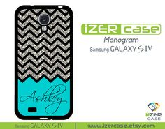 Personalized Monogrammed Samsung Galaxy S4 Case by iZERCASE, $16.99