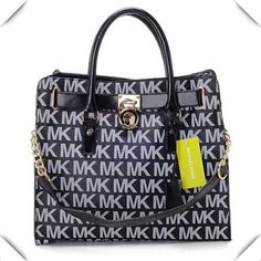 It Is Your Best Chance To Purchase Your Dreamy Michael Kors Logo Large Vanilla Totes Here! #FallingInLoveWith #WhatsInYourKors