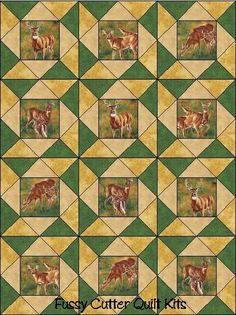 Southwestern Western Wild Horses Stallions Colts Fabric Easy Pre ... : pre cut quilt blocks - Adamdwight.com