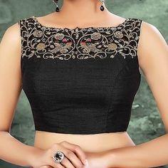 Designer Blouse Patterns, Blouse Designs, Saree Jackets, Sleeveless Jacket, Saree Blouse, Lehenga, Yards, Ethnic, Blouses