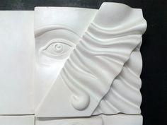 """""""Il volto di Venere"""" (particolare), cl. 4B ind. Arti figurative, a.s. 2013/14 - Liceo artistico Stagio Stagi Pietrasanta."""