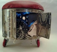 sillon tambor lavarropas reciclado