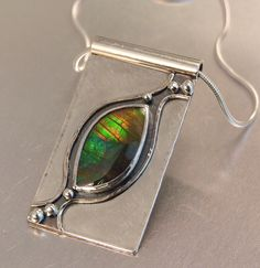 AMMOLITE NECKLACE by Melody Armstrong.