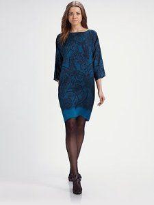 Emilio Pucci teal dress