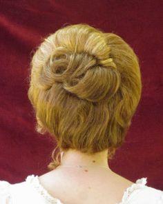 gibson girl hair
