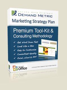 Marketing Strategy Plan Methodology & Premium Tool-Kit