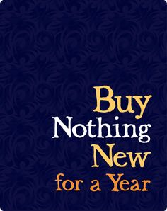 Someone noticed us! 6 Bloggers who are Buying Nothing New in 2013!  