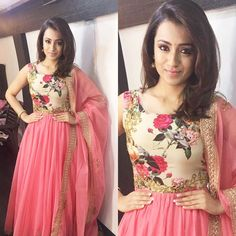"""1,718 Likes, 10 Comments - Shravya Varma (@shravyavarma) on Instagram: """"The ball of Positivity and prettiness in Pink today for the promotions of #kodi  Actress Trisha…"""""""