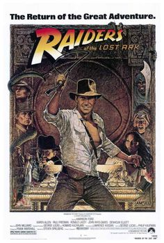 Raiders of the Lost Ark Movie Posters From Movie Poster Shop