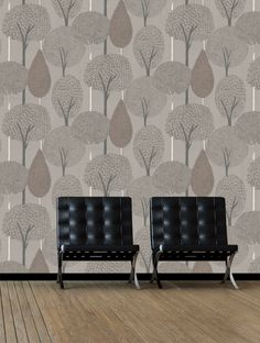 Silhouette Is Taken From Harlequins Boutique Wallpaper Collection