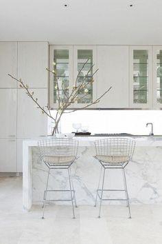 Marmor Arbeitsplatte Für Küche Weiß