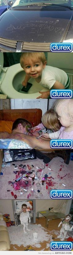 My own Durex commercial