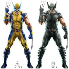 A. Or B. ? I prefer the Tan suit over these 2 but if I had to choose out of these two Id go Black over Yellow!   What about you?  Download images at nomoremutants-com.tumblr.com  #marvelcomics #Comics #marvel #comicbooks #avengers #captainamericacivilwar #xmen #Spidermanhomecoming  #captainamerica #ironman #thor #hulk #ironfist #spiderman #inhumans #civilwar #lukecage #infinitygauntlet #Logan #X23 #guardiansofthegalaxy #deadpool #wolverine #drstrange #infinitywar #thanos #gotg #RocketRaccoon…