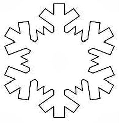 Printable Snowflake Templates to Get You Through Any Snow Day: Let ...