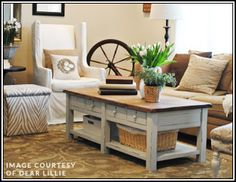 I pinned this from the Cozy Cottage - Lovingly Distressed Furniture  Delightful Decor event at Joss and Main!